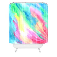 Rosie Brown Rainbow Connection Shower Curtain
