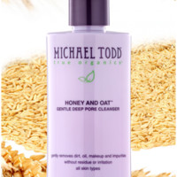 Michael Todd True Organics  - HONEY AND OAT GENTLE DEEP PORE CLEANSER