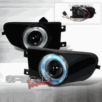 BMW 1997-2000 BMW E39 5-SERIES HALO PROJECTOR FOG LIGHTS/ LAMPS   1 SET RH & LH 1997,1998,1999,2000