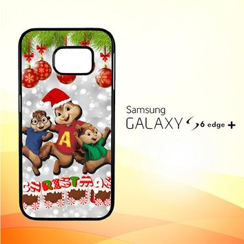 alvin and the chipmunks and the chipettes D0268 Samsung Galaxy S6 Edge Plus Case