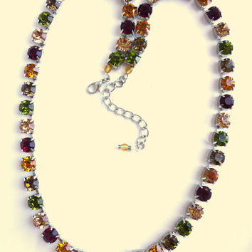 Swarovski crystal necklace, Fall collection, better than sabika, GREAT DEAL