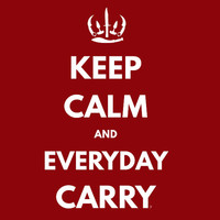 Keep Calm and Everyday Carry (EDC) T-Shirt *FREE SHIPPING*
