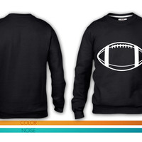 Football Vector crewneck sweatshirt