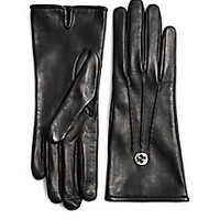 Gucci - Guanti Donna Leathe Gloves - Saks Fifth Avenue Mobile