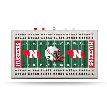University of Nebraska Cornhuskers NCAA Cribbage Board