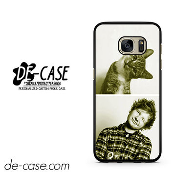 Ed Sheeran And Cat DEAL-3810 Samsung Phonecase Cover For Samsung Galaxy S7 / S7 Edge