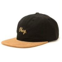 Obey Edward Strapback Hat