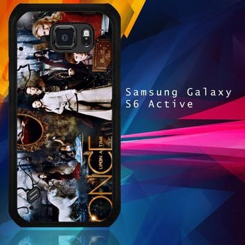 Once Upon A Time Wallpaper Y0852 Samsung Galaxy S6 Active  Case
