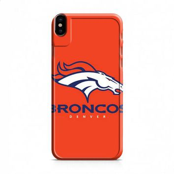 Denver Broncos logo basic iPhone X case