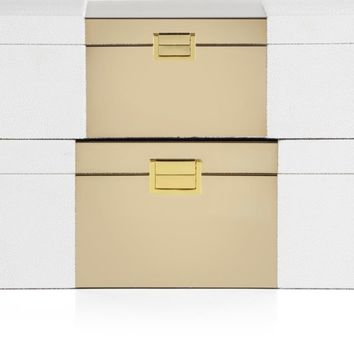 Celeste Boxes - Set of 2 | Sasha Office Inspiration | Office | Inspiration | Z Gallerie