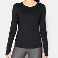 Women's UA Fly-By Solid Long Sleeve | Under Armour US