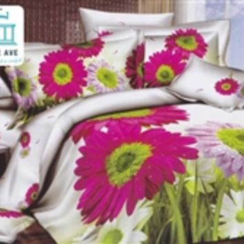 Twin XL Comforter Set - College Ave Dorm Bedding College Comforter Sets X Long Cotton Floral Girls Pretty