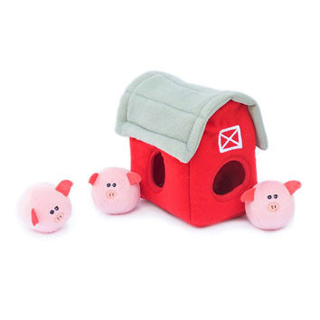 Pig Barn Burrow Toy