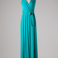 Delicate and Delightful Maxi - Turquoise