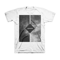 AWOLNATION Men's  Clouds T-shirt White