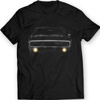 Dodge Charger 1970 R/T American Muscle T-shirt 100% Cotton Holiday Christmas Gift Birthday