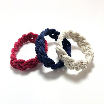 Narrow Sailor Bracelet, Choose from 18 Colors
