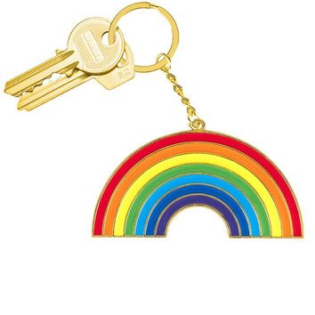Rainbow Oversized Keyring