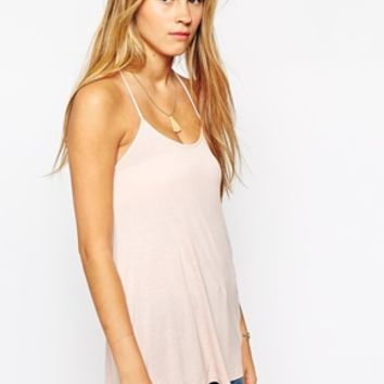 Only Cami Top - Rose smoke