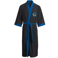 Golden State Warriors Fleece Bath Robe - Adult, Size: