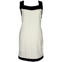 Tom Ford Dress New Black and White Tunic Shift Dress Vicose US 4