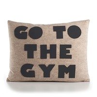 Go to the Gym Cushion