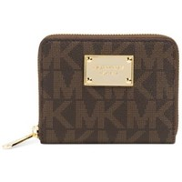 MICHAEL Michael Kors Jet Set Item Medium Zip Around Wallet | macys.com