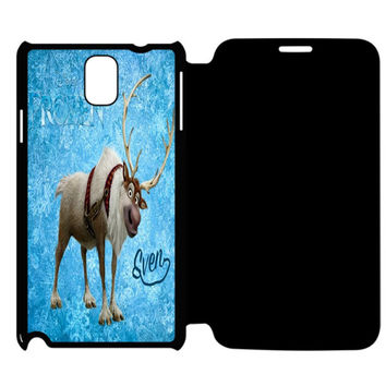 Frozen Sven Samsung Galaxy Note 4 Flip Case Cover
