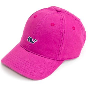 Vineyard Vines Signature Whale Logo Women's Baseball Hat- Purple Plum
