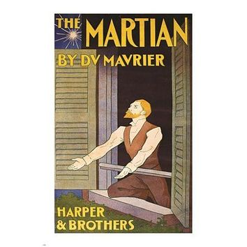 THE MARTIAN edward penfield VINTAGE AD POSTER harper & brothers 24X36 DRAMA
