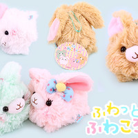 Buy Authentic Amuse Fuwatto Fuwa Fluffy Rabbit Keychain at Tofu Cute