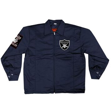 Body Count Men's  Raider Logo Jacket Navy