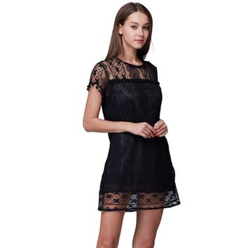 Women's Casual Sleeveless Short Dress