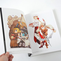 Bravely Second Design Works: The Art of Bravely 2013-2015