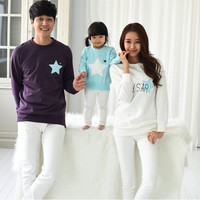 mommy and me clothes mother father baby cotton family look full sleeve looking my stars family matching outfits