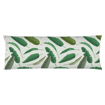 Banana Leaf Body Pillow