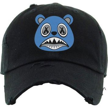 UNC BAWS Black Dad Hat