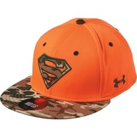 Under Armour Men's Alter Ego Superman Camo Stretch Fit Hat
