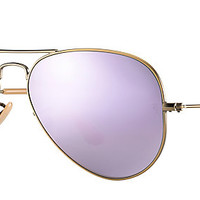 Ray-Ban RB3025 167/4K 58-14 AVIATOR FLASH LENSES Bronze-Copper sunglasses | Official Online Store US