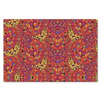 Colorful Organic Pattern Tissue Paper
