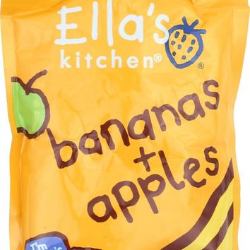 Ella's Kitchen Organic Baby Food Apples & Bananas - 3.5 oz