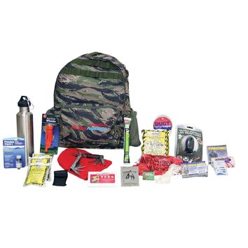 Ready America Deluxe Outdoor Survival Kit -1-Person