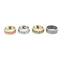 Harry Potter Houses Ring Set