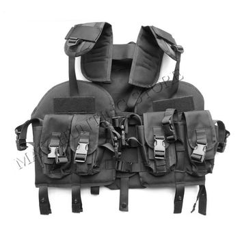Outdoor Durable Tactical US Modular Load Assault Swat Us Navy Seal Tactical Vest Hunting Gear Accessories