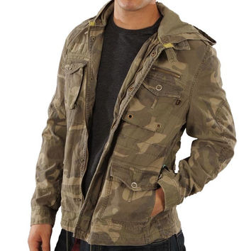 Alpha Industries McGyver Camo Army Jacket