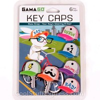 Baseball Cap Shaped Key Covers