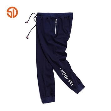 Fleece Pants Mens Casual Sweatpants Autumn Outerwear Brand Clothing Sweat Pants Male Long Trousers For Joggers Plus Size M-3XL
