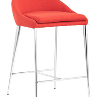 Reykjavik Counter Chair Tangerine