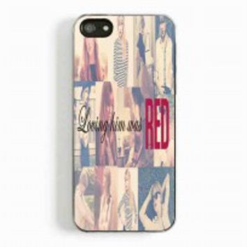 Taylor Swift Loving Him was Red for iphone 5 and 5c case