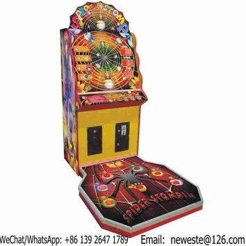 5pcs, Spider Stomp Coin Operated Amusement Arcade Lottery Redemption Game Machine
